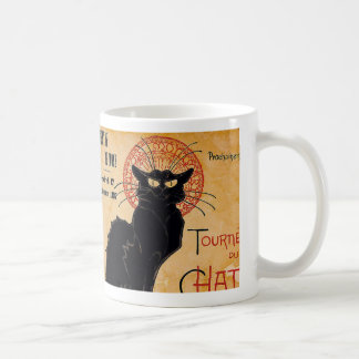 """Soon and the Black Cat Tour by Rodolphe Salis"" Coffee Mug"