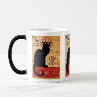 """Soon and the Black Cat Tour by Rodolphe Salis"" Magic Mug"