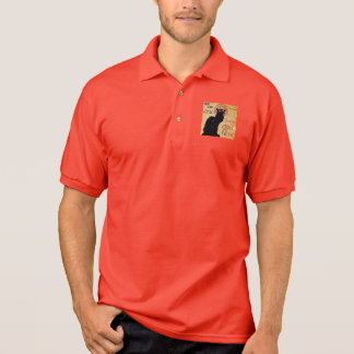 """""""Soon and the Black Cat Tour by Rodolphe Salis"""" Polo Shirt"""
