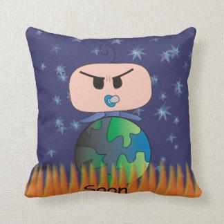 """Soon"" Cushion - An Angry Baby Design"