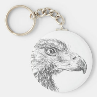 Soon Eagle portrait Keychain