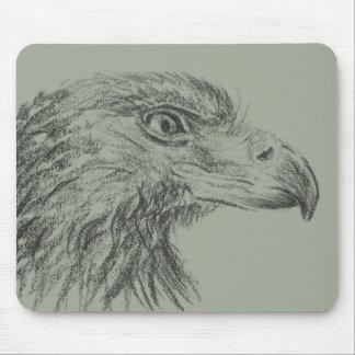 Soon Eagle portrait Mouse Pad