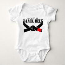 Soon To Be Black Belt !!! Baby Bodysuit