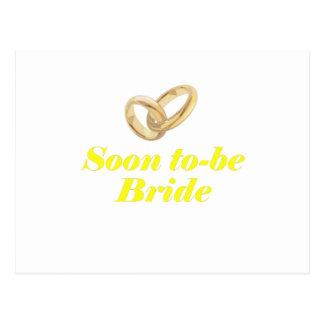 Soon to be Bride Postcard