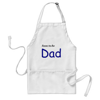 Soon to be Dad Adult Apron