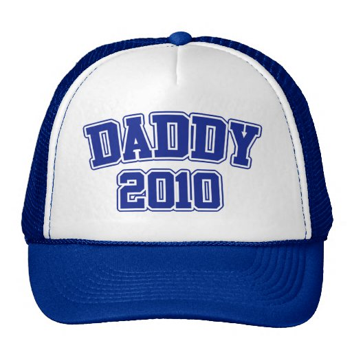 Soon to be Daddy in 2010 Mesh Hat