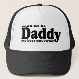 Soon to be Daddy Trucker Hat