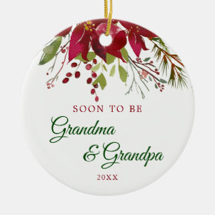 Grandma To Be Ornaments & Keepsake Ornaments   Zazzle