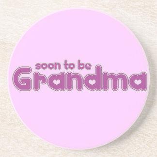 Soon to be Grandma Drink Coasters