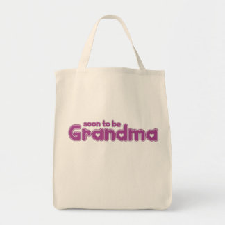 Soon to be Grandma Grocery Tote Bag