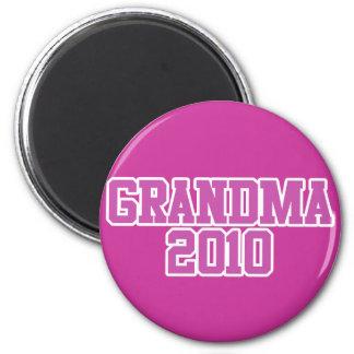 Soon to be Grandma in 2010 Refrigerator Magnet