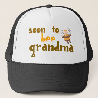 Soon to be Grandma Trucker Hat