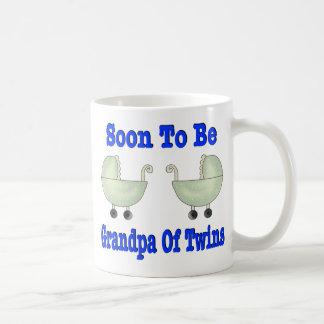 SOON TO BE GRANDPA Of Twins Coffee Mug