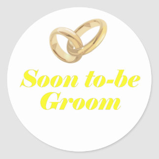 Soon to be Groom Stickers