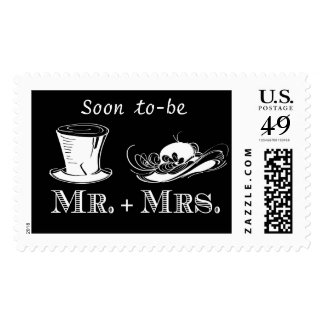 Soon to-be Mr & Mrs Vintage Wedding Postage