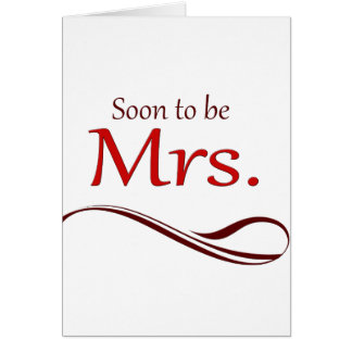 Soon to be Mrs.