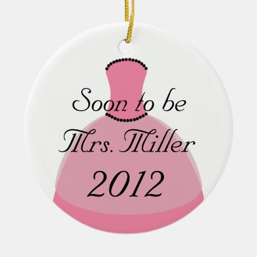 Soon To Be Mrs. Christmas Ornament
