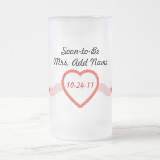 Soon-to-Be Mrs. Frosted Mug