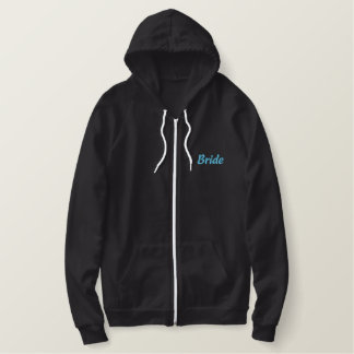 Soon to be... Mrs. Last Name Embroidered Hoodie