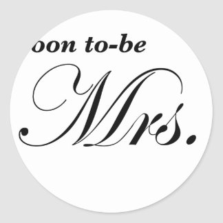 Soon to be Mrs Stickers