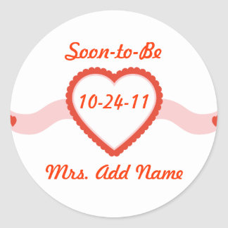 Soon-to-Be Mrs. Stickers and Gifts