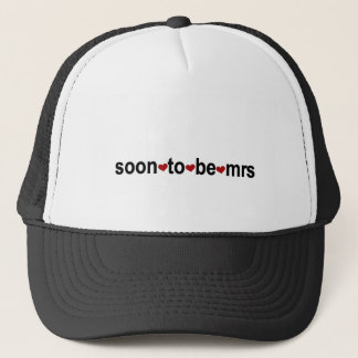 Soon To Be Mrs T-shirts and Gifts Trucker Hat