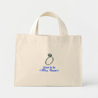 Soon to Be Mrs Tote Bags
