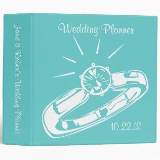 "Soon To Be Mrs. Wedding Planner 2"" Binder"