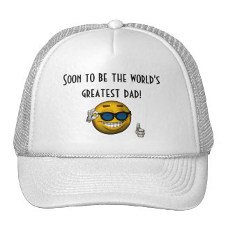 Soon to Be the World s Greatest Dad Mesh Hats