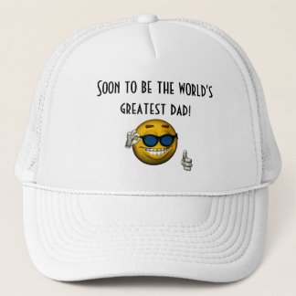 """""""Soon to Be the World's Greatest Dad!"""" Trucker Hat"""