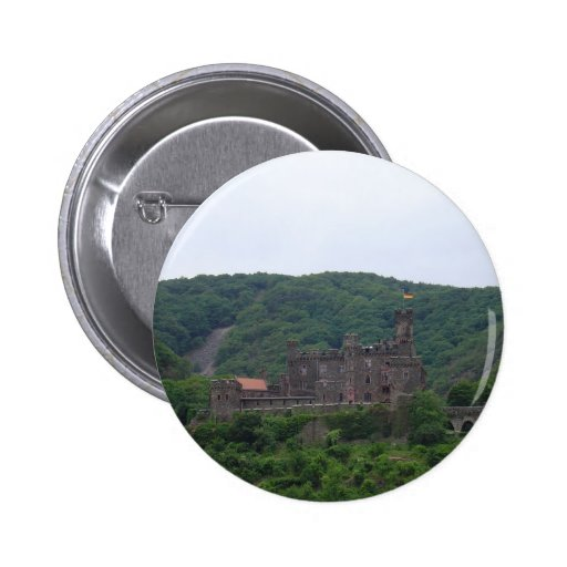 Sooneck Castle 2 Inch Round Button