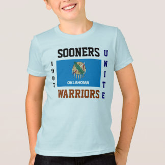 SOONERS WARRIORS UNITE 1907 OKLAHOMA T-Shirt