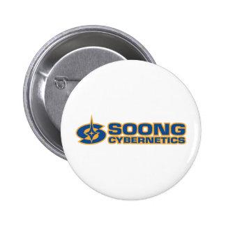 Soong Cybernetics - Noonien Soong Pinback Buttons
