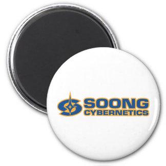 Soong Cybernetics - Noonien Soong Fridge Magnet