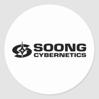 Soong Cybernetics - Noonien Soong Round Stickers