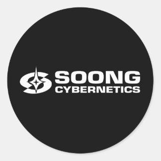 Soong Cybernetics - Noonien Soong Stickers