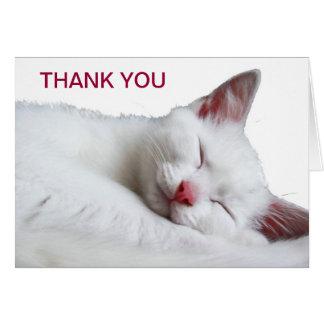 SOOO SLEEPY - THANK YOU CARD