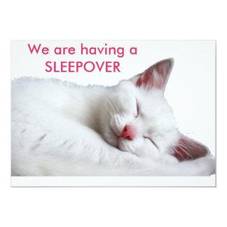 sooooooooooooooo sleepy, We are having aSLEEPOVER Card
