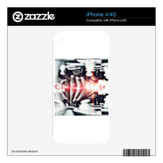 SOOSO VISIONZ CHESS DESIGN SKINS FOR iPhone 4