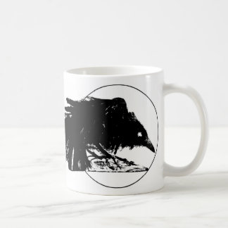 Soot Black Raven Coffee Mug