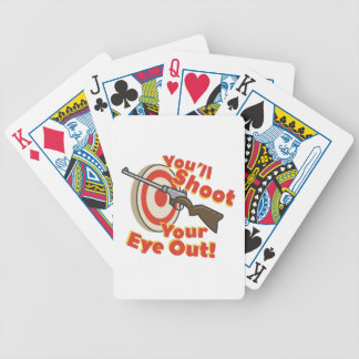 Soot Eye Out Bicycle Playing Cards