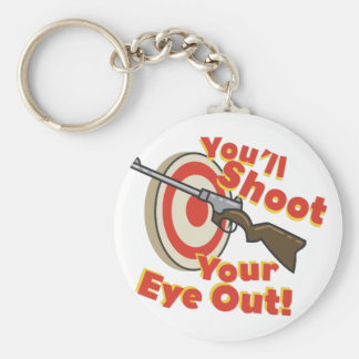 Soot Eye Out Keychain