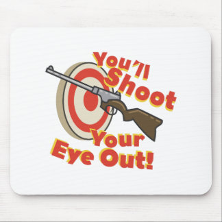 Soot Eye Out Mouse Pad