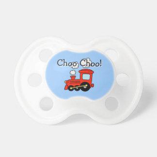 Soother locomotor del pacificador el   del tren chupetes de bebé