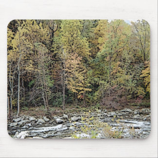 Soothing Creek Waters Mouse Pad