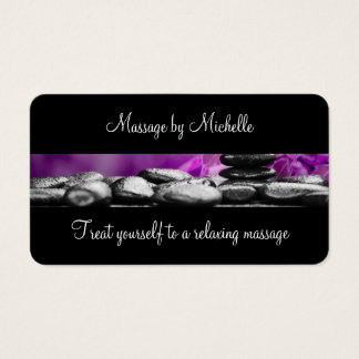 Soothing Massage Business Cards
