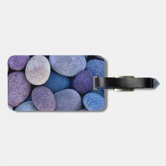 Soothing pebbles bag tag