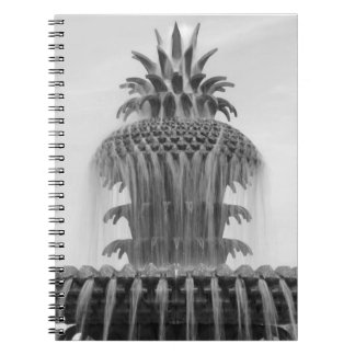 Soothing Pineapple Notebook