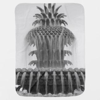Soothing Pineapple Stroller Blanket