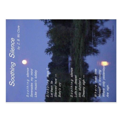 Soothing Silence - Elefant Postcard